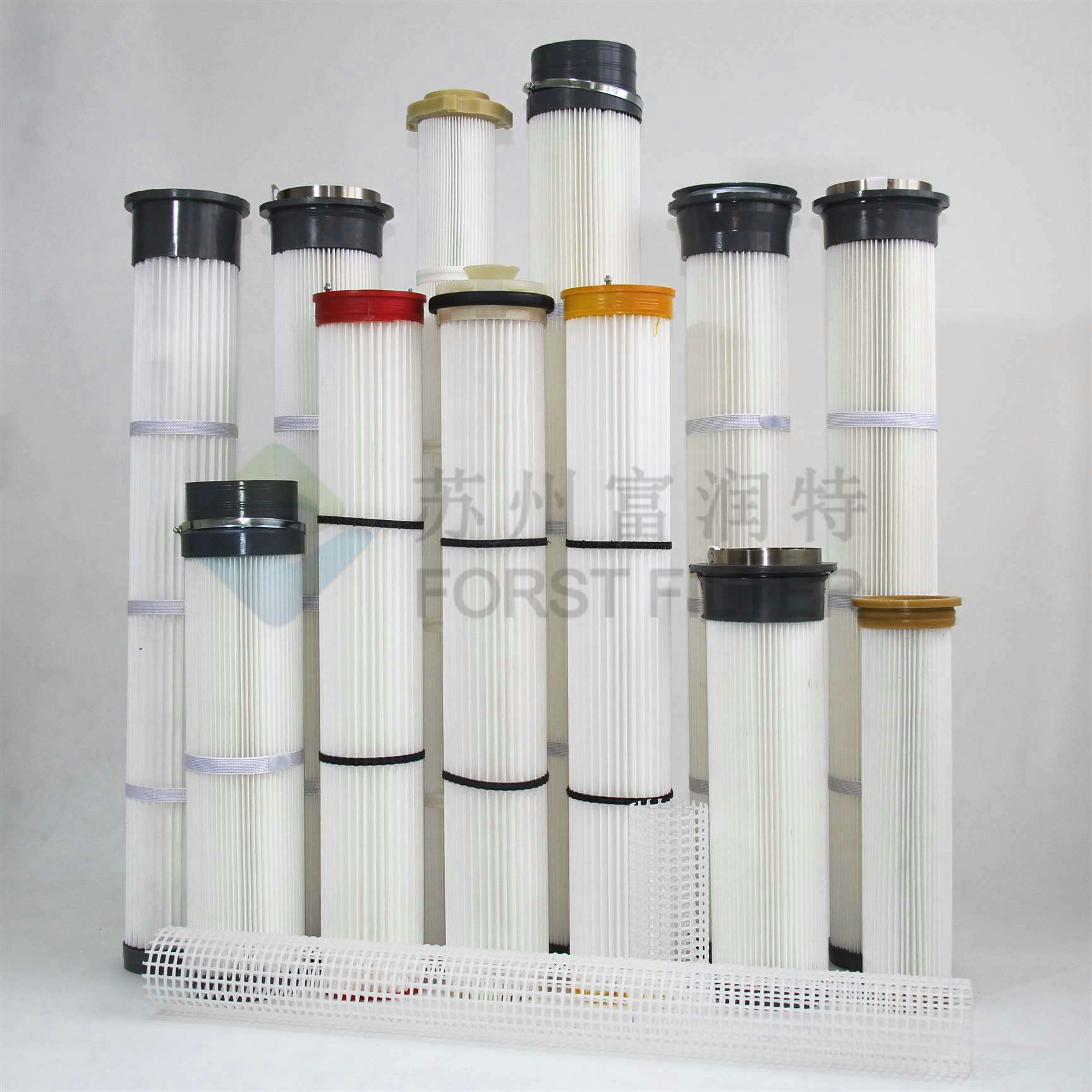 Polyurethane Top/Bottom Pleated Bag Filter